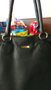Black Danier Leather Purse