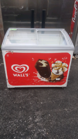 Wall's commercial ice cream display Freezer fully working