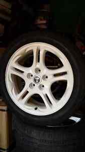 """205/50R17 Brand new tires on 17"""" Mag Wheels"""