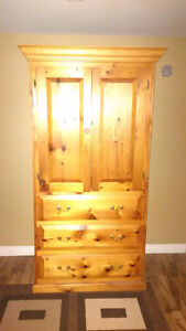Armoire solid wood St. John's Newfoundland image 1