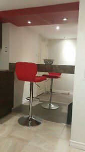 Recently renovated, modern design, wooden floor and cabinet unit