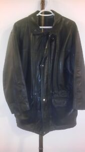 Vintage Brown Jack Fraser 3/4 length Leather Jacket