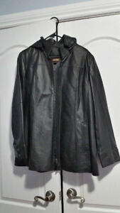 Danier Leather Winter Coat-Size Large