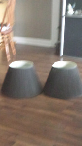 Black lamp shades for living room lamps