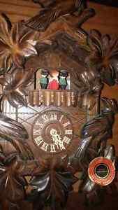 Original black forest coo coo clock