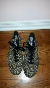 Authentic Leopard Print Keds. Size 7