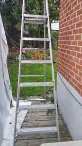 7 foot aluminum ladder