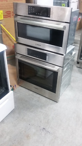 STRONGMAN APPLIANCES : BOSCH MICROWAVE WALL AND OVEN COMBO