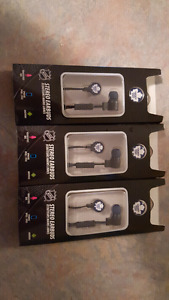 Toronto Maple Leafs headphones.  New