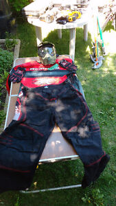 Paintball clothing gear