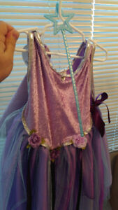 Great Pretenders Purple Fairy Wizard with Wand Outfit Size 5 - 6