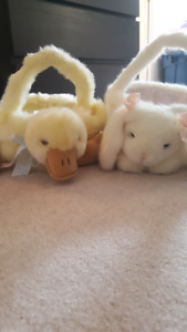 Easter baskets duck and bunny together for $10