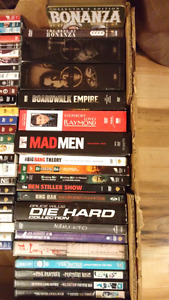 Super DVD box sets and seasons (Blu-Rays in other ads)