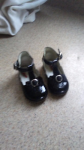 Baby Girl Patent Leather Shoe Size 18