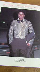 Michael Jackson Body and Soul, Illustrated Biography, 1984 Kitchener / Waterloo Kitchener Area image 3