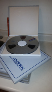 (12) 10 1/2 inch Pro Audio Tapes FOR SALE