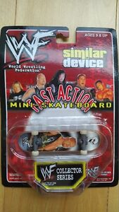 WWF Similar Device Fast Action Mini-Skateboard (Stone Cold)