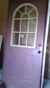 Door with Frame