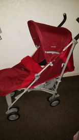 Chicco Red London stroller