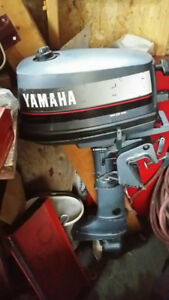 Yamaha 4 HP.Outboard Motor  Shortshaft