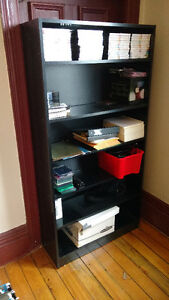 Book shelf - black