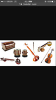 Classes for Indian classical music.