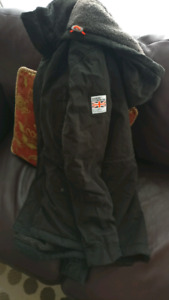 Men's authentic superdry rookie military parka jacket