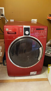 Kenmore Front Loading Washer - RED - 5 years old!