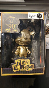 90th Anniversary Mickey Mouse Gold Statue
