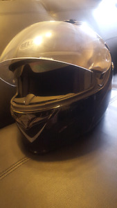 Motorcycle helmets in perfect condition