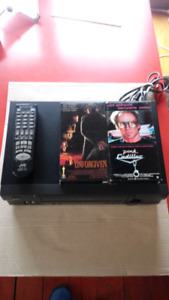 Clint Eastwood VHS Collection + VHS video player