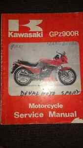 SHOP MANUEL KAWASAKI GPZ900R