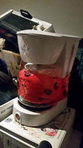 Coffee perk/ small toaster oven / electric water kettle