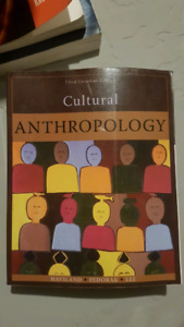 Cultural anthropology - third canadian edition
