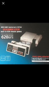 (Reduced)Mini Game Entertainment Systems. 620 preloaded games.
