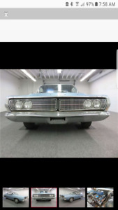 WANTED 1968 FORD GALAXIE PARTS