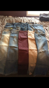 Selling lots of clothes