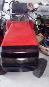 used Dynamark lawn tractor