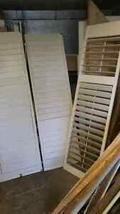 Shutters for Windows and Doors $30 White