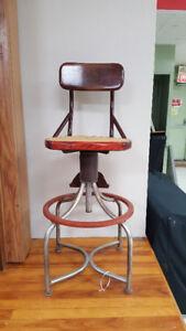 Switchboard operators swivel chair
