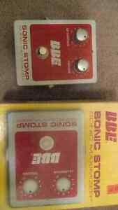 BBE sonic stomp sonic maximizer electric guitar effects pedal