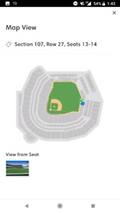 Jays vs Mariners in Seattle August Long