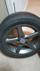 selling 2 of my acura rsx type s wheel
