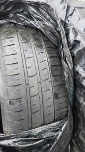 195 65 r15 pneus d'été 60$