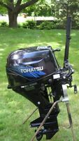 9.8HP TOHATSU FOUR STROKE OUTBOARD MOTOR (2010)