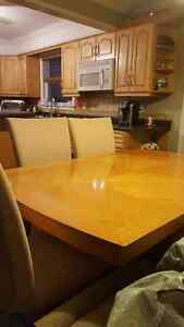 Light colored dining set Kitchener / Waterloo Kitchener Area image 2