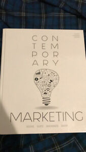 Contemporary Marketing ADMS 2200