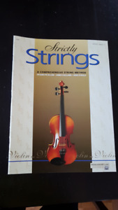Strictly Strings Violin, Books 1 and 2 - NEW