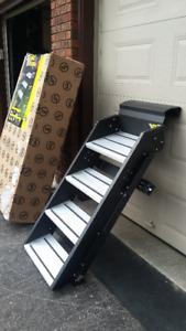 """SolidStep RV Steps, 28"""" Quad Step"""