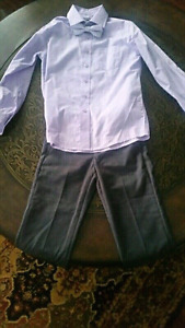 BOYS SIZE 8 DRESS SHIRT,  TIE AND DRESS PANTS  $10 OR BEST OFFER